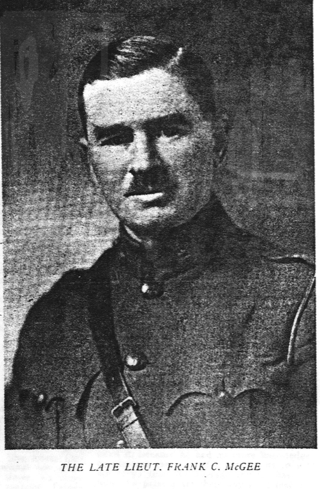 Lt Frank McGee